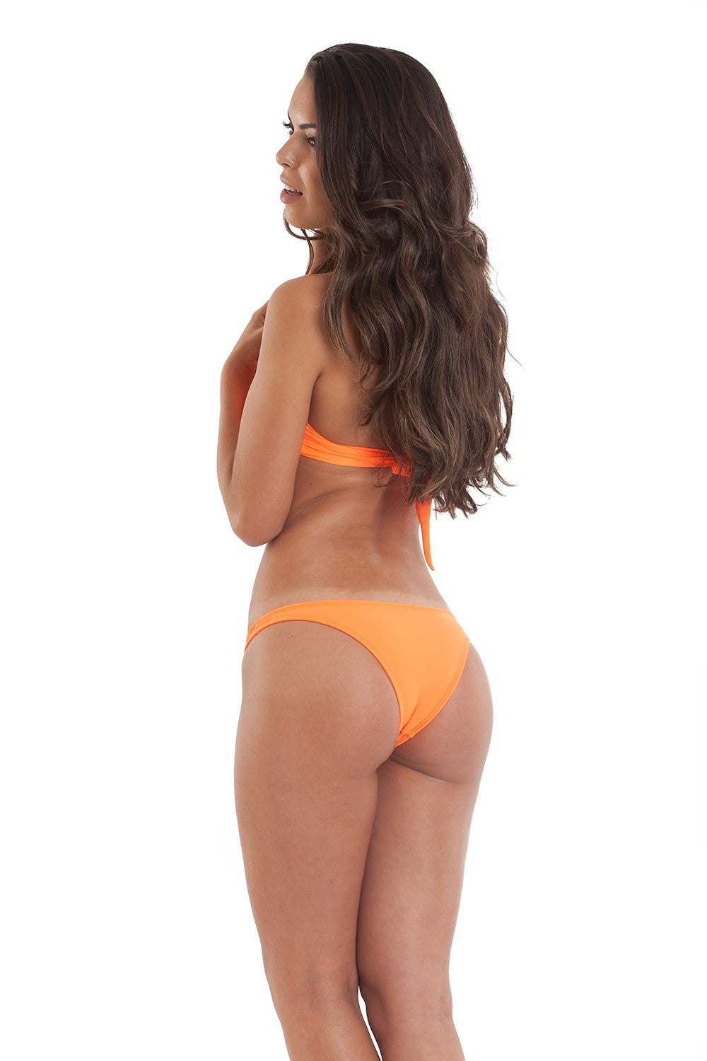 Orange - Bandeau Top & Hipster Bottom - Set