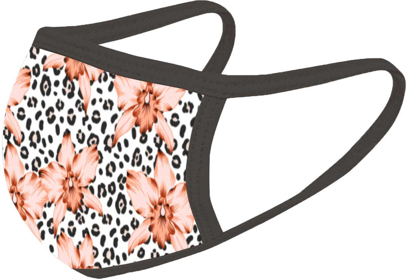 Cheetah - FACE MASK - With pocket for filter