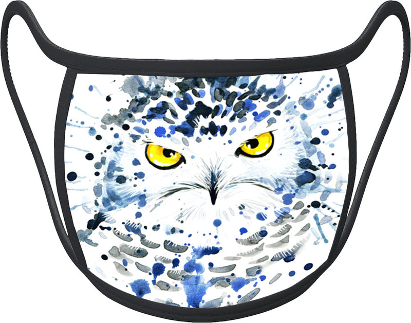 Owl - Classic Face Mask With Pocket For Filter