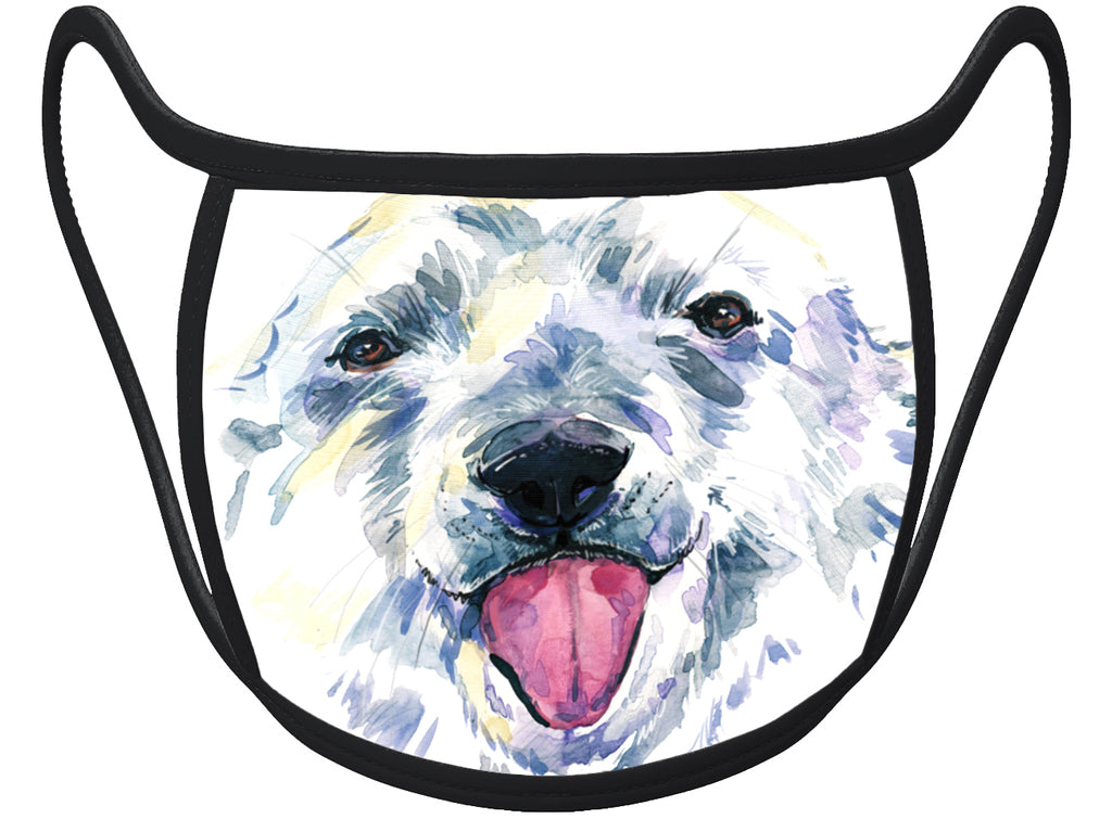 Dog- Classic Face Mask With Pocket For Filter