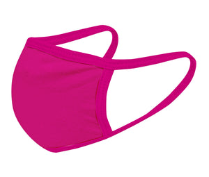 FUCHSIA FACE MASK - Comfortable Washable Unisex Mask