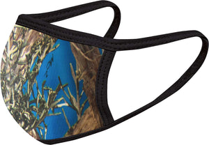 Hunter Blue - FACE MASK - With pocket for filter