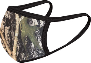Hunter Print Face Mask Five Pack - With pocket for filter