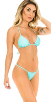 AQUA - Micro Thong & Top SET