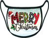 MERRY CHRISTMAS - HOLIDAY  Classic Face Mask With Pocket For Filter