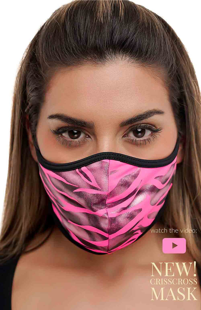 CrissCross Pink Tiger MASK