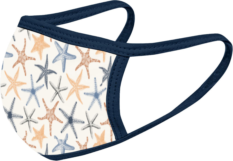 Starfish - FACE MASK - With pocket for filter