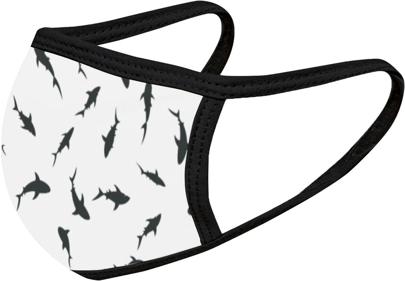 Shark Reef - FACE MASK - With pocket for filter