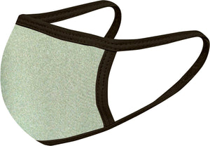 Olive Black - FACE MASK - With pocket for filter