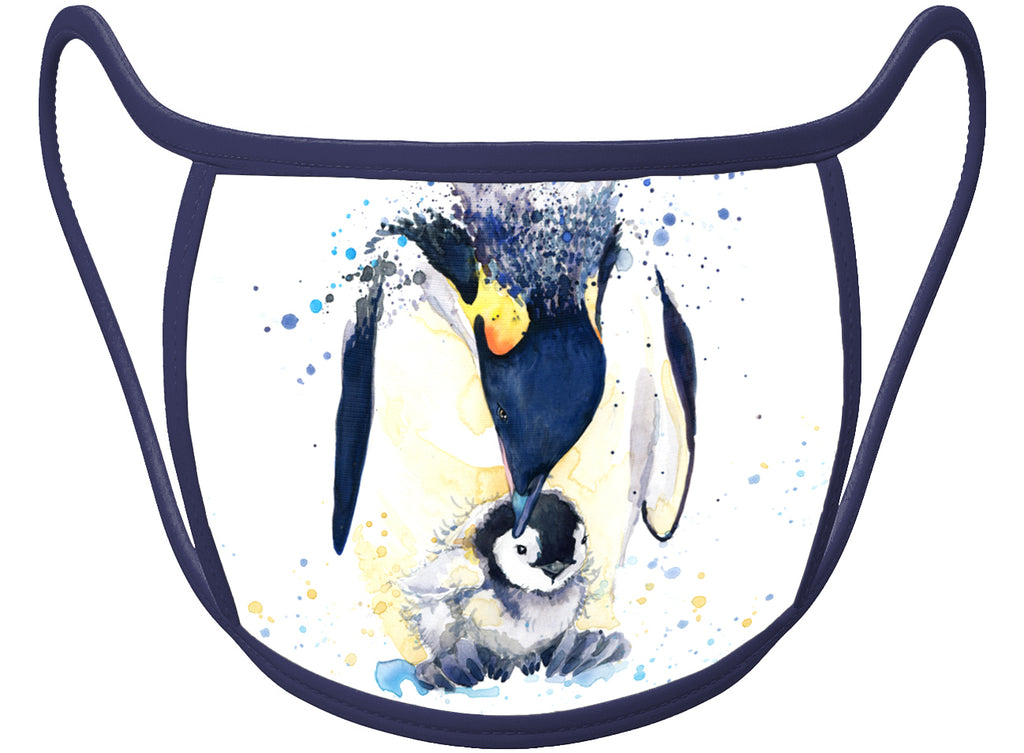 PINGUIM  - Classic Face Mask With Pocket For Filter