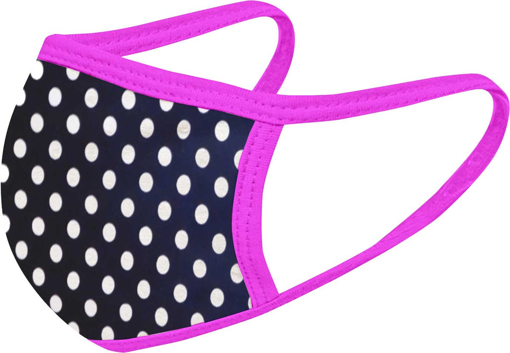 Pink Dots - FACE MASK - With pocket for filter