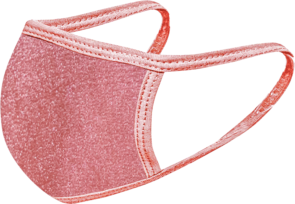 Rosy Nude - FACE MASK - With pocket for filter