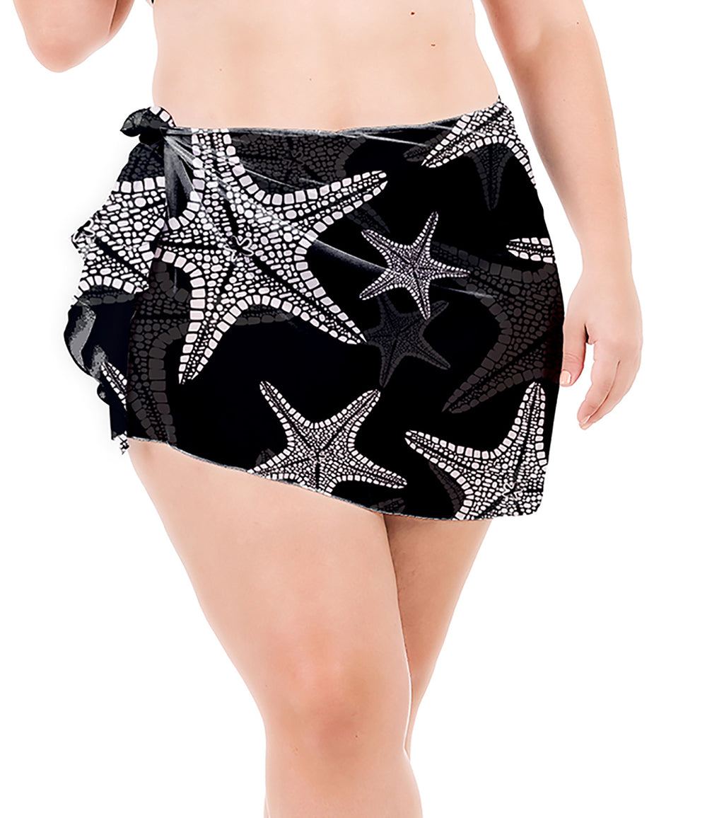 Sea Star - Chiffon -  Plus Size Sarong