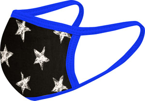 Stars FACE MASK - Comfortable Washable Unisex Mask