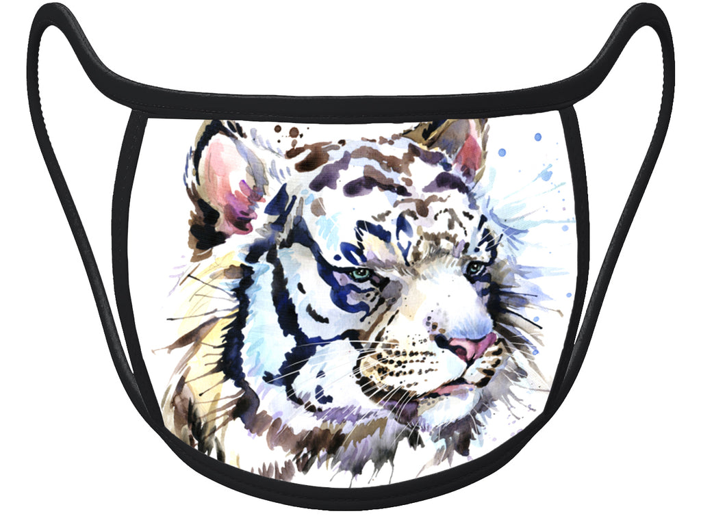 Tiger - Classic Face Mask With Pocket For Filter