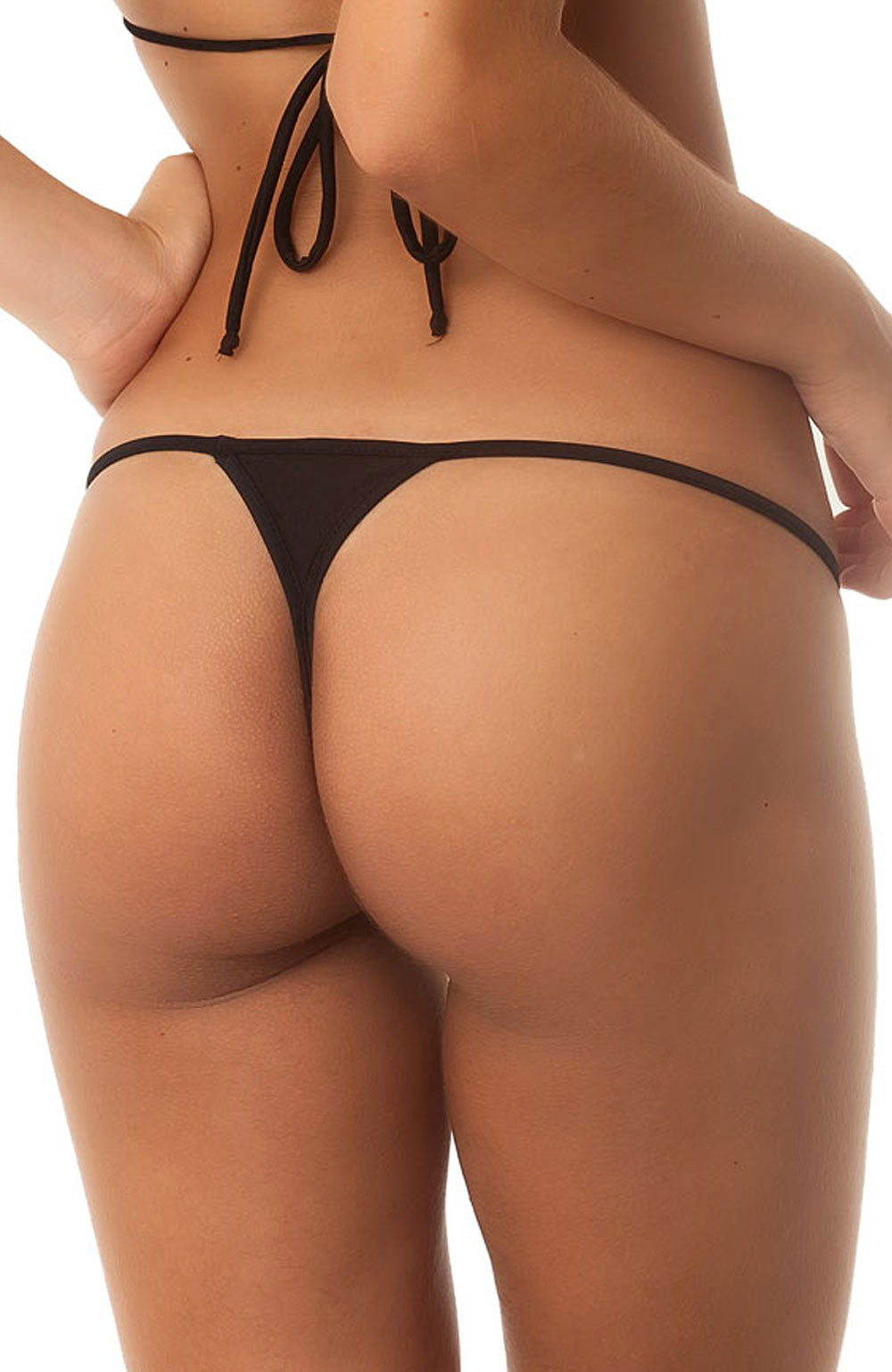 Black - Micro Thong Bottom