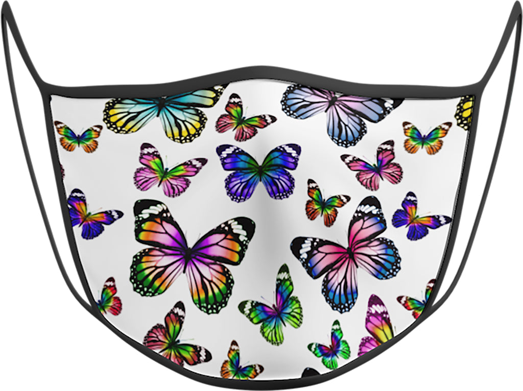 Butterfly - KIDS FACE MASK - With pocket for filter