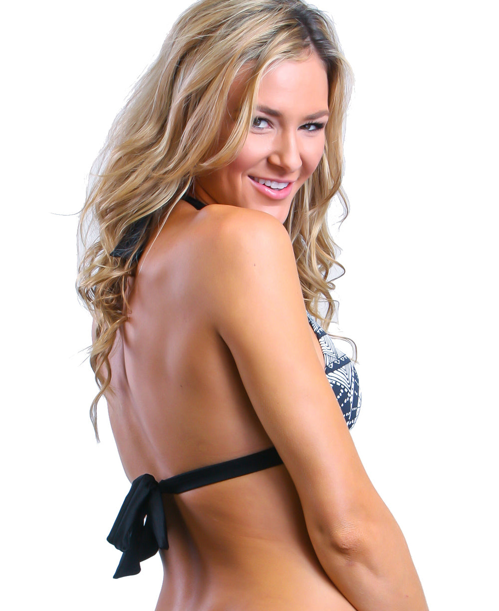 Caribe Black - Halter Top