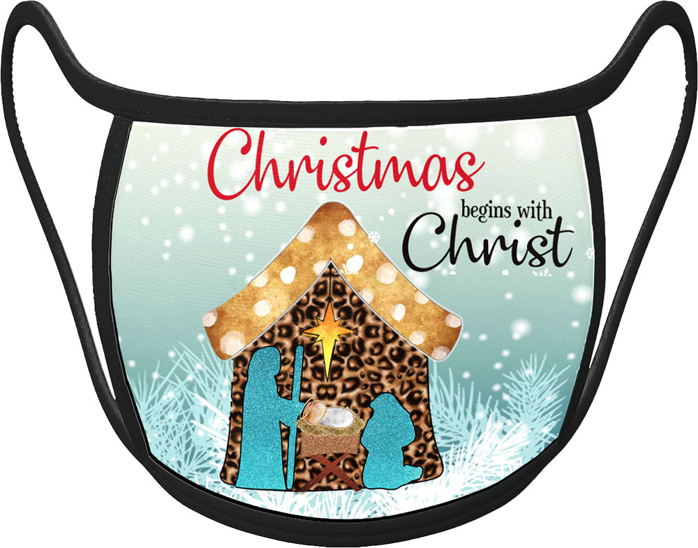 PRE ORDER - Nativity - Classic Face Mask With Pocket For Filter