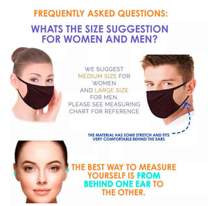 Ocean Drive FACE MASK - Comfortable Washable Unisex Mask