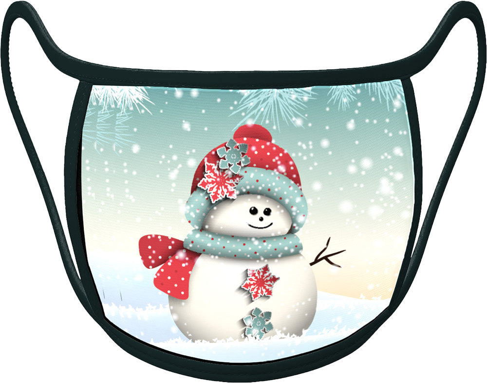 PRE ORDER - snowman - Classic Face Mask With Pocket For Filter