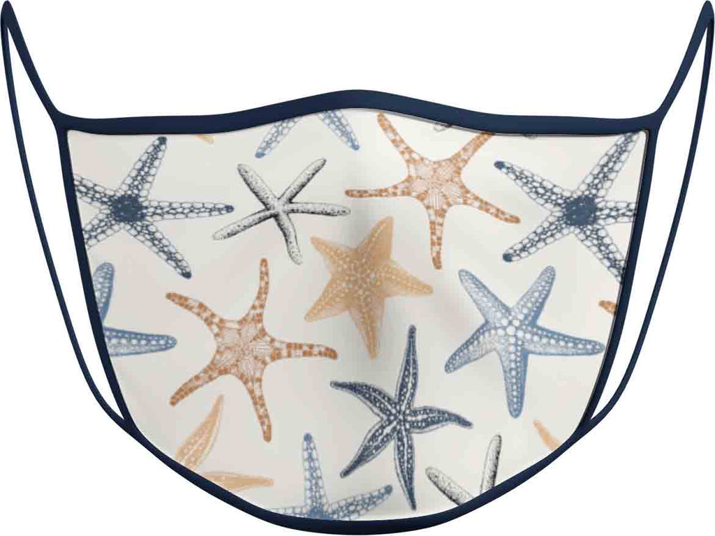 Starfish - KIDS FACE MASK - With pocket for filter
