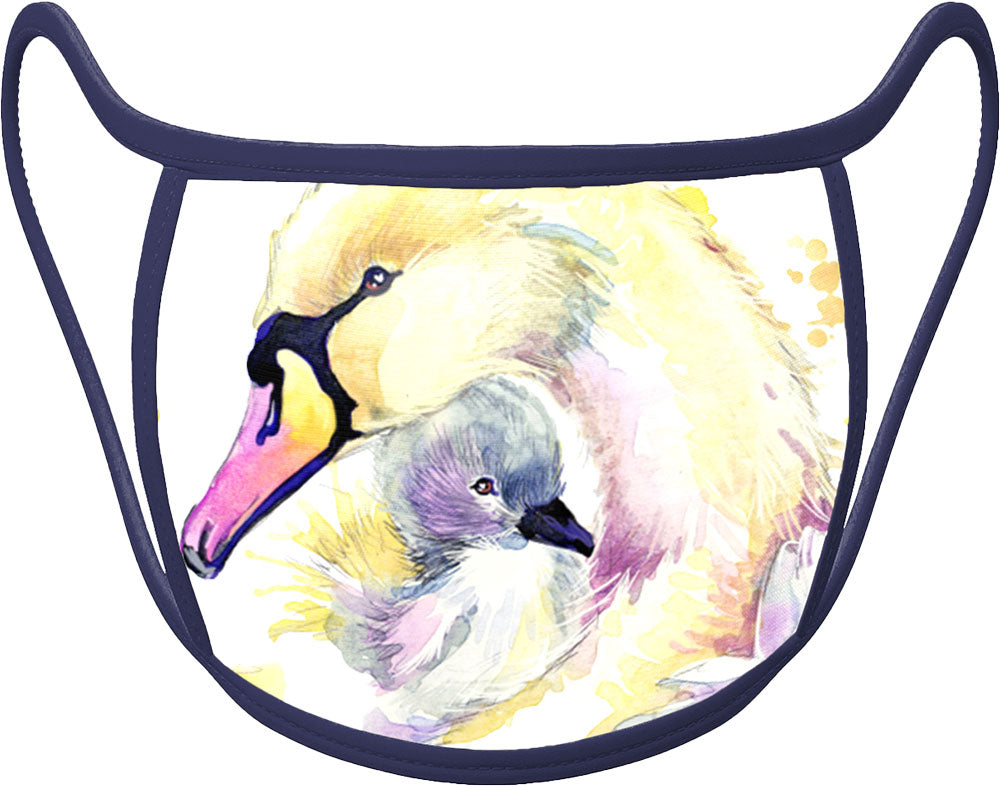 Swan - Classic Face Mask With Pocket For Filter