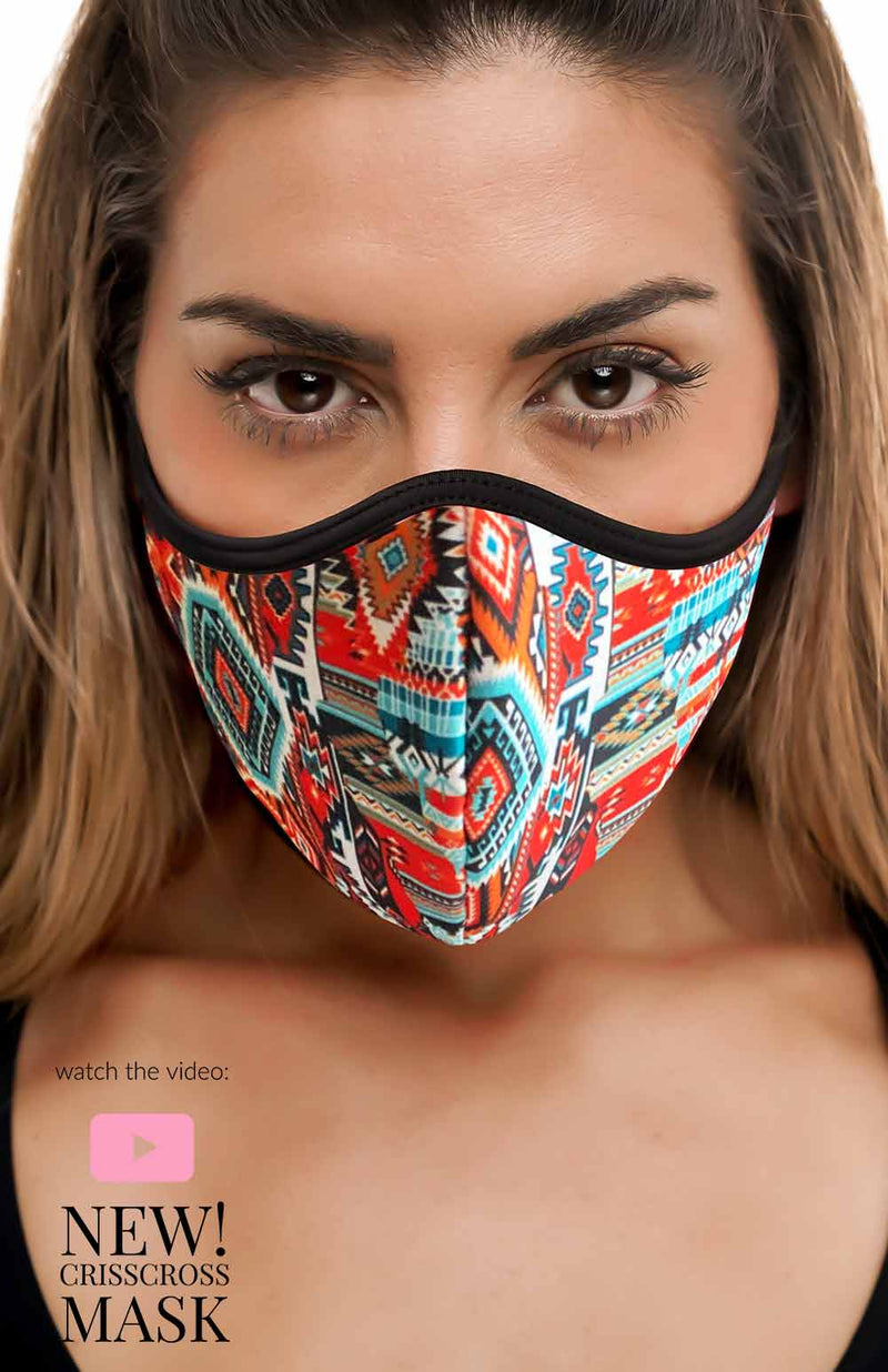 CrissCross TRIBAL - FACE MASK