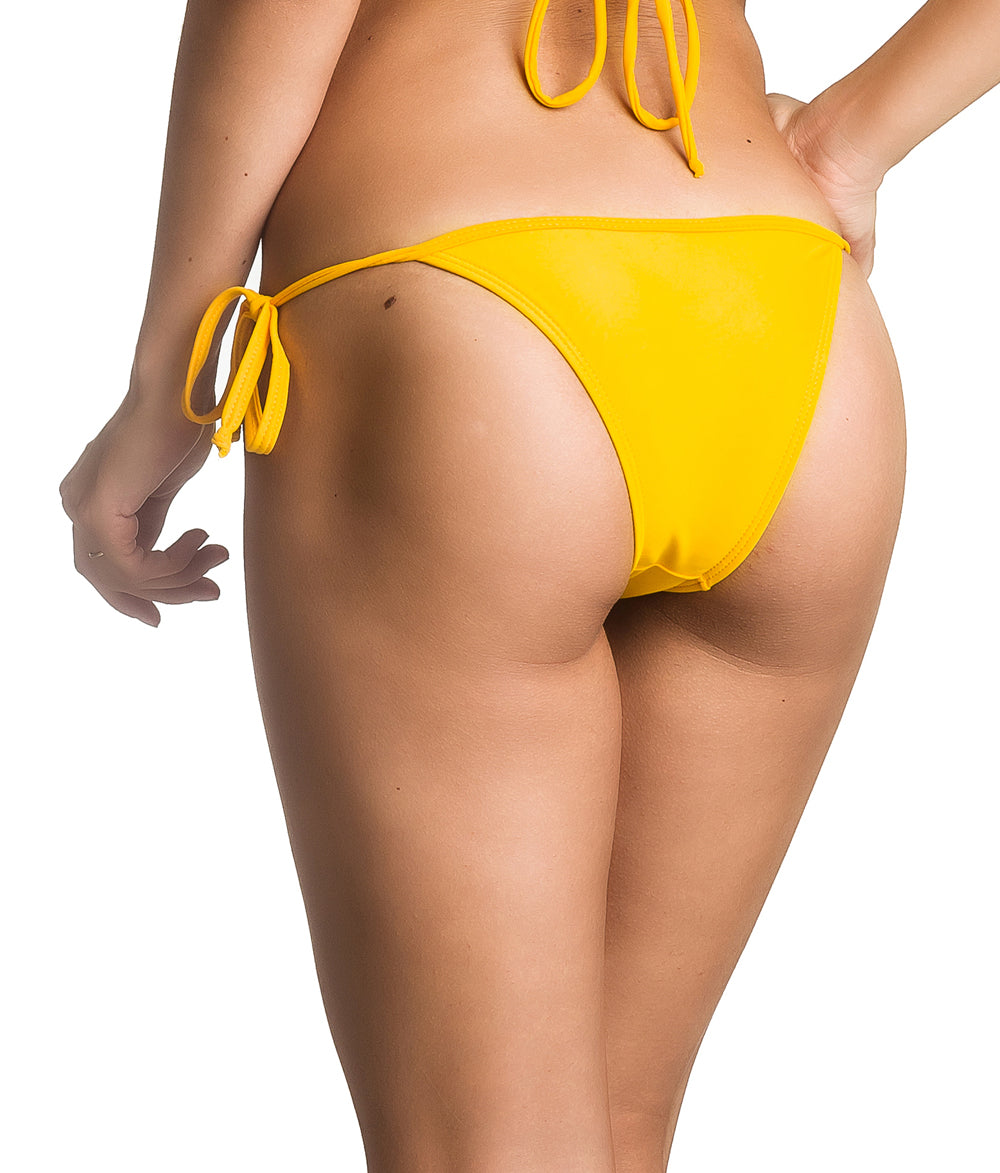 Mustard - string Tie Side Bottom