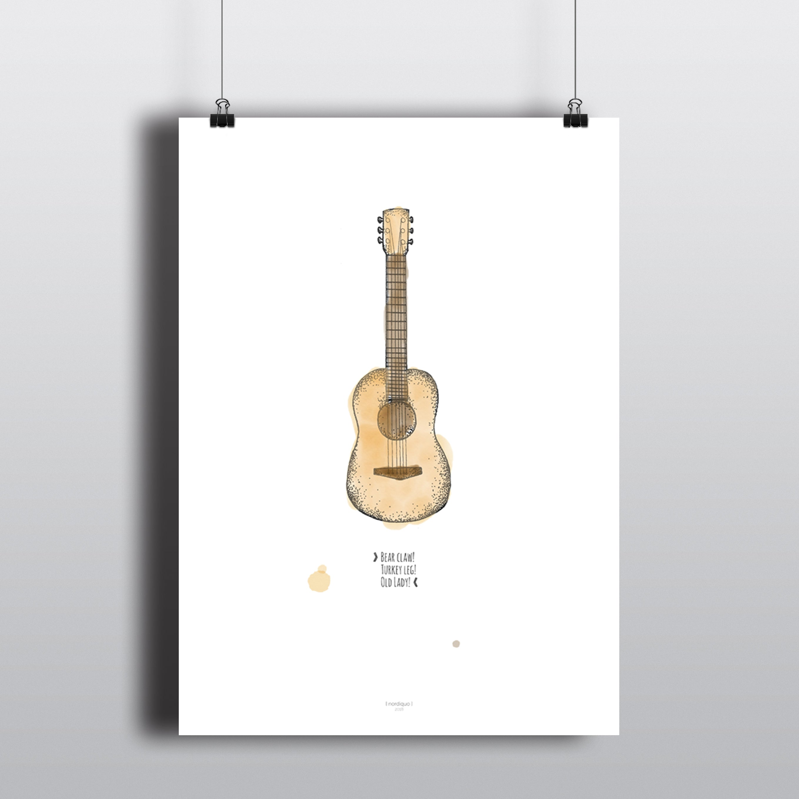 GUITAR CHORDS! - colored