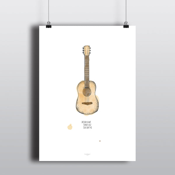 GUITAR CHORDS! Friends Quote Poster – Nordicquo