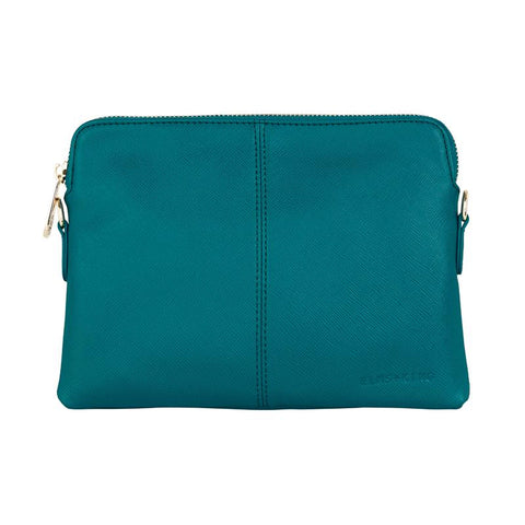 Vegan Leather Bowery Wallet Elms and King in Teal