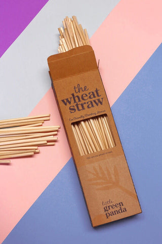 Wheat Straws - Compostable | 70 Pack
