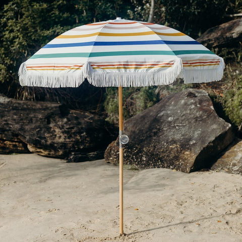 Basil Bangs Beach Umbrella Daydreaming
