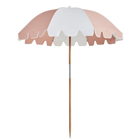 Basil Bangs Weekend Umbrella in Nudie at Unearthed Homewares
