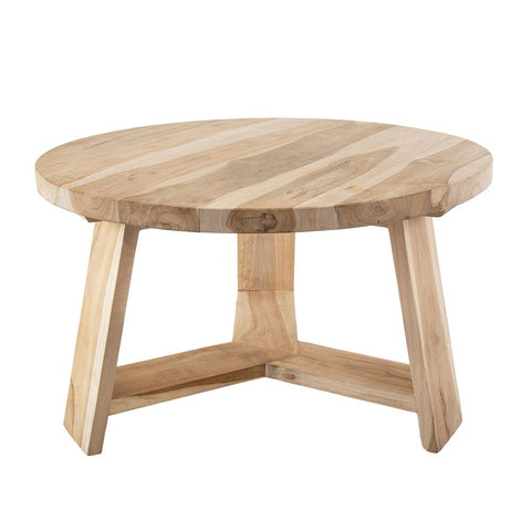 Bermuda natural Timber Side Table @ Unearthed Homewares