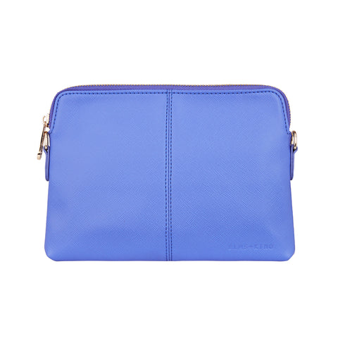 Vegan Leather Bowery Wallet Elms and King in Cornflower Blue