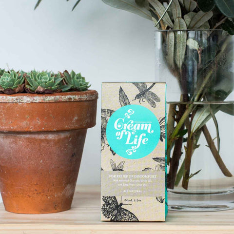 cream of life hand cream by Olieve and Olie at Unearthed Homewares