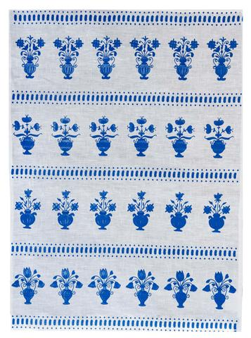 Tea Towel - Hand Screen Printed | Delft