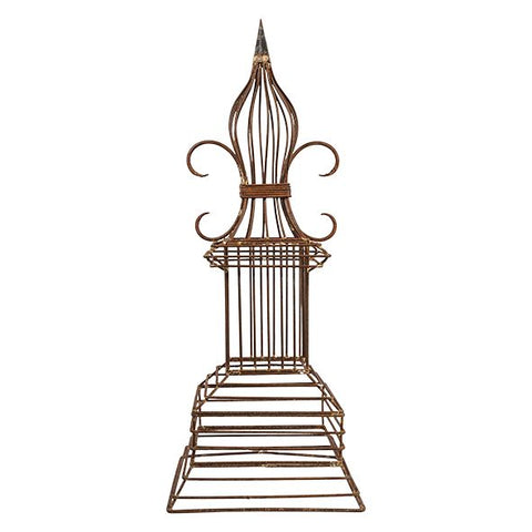 Fleur De Lys Obelisk by French Country at Unearthed Homewares