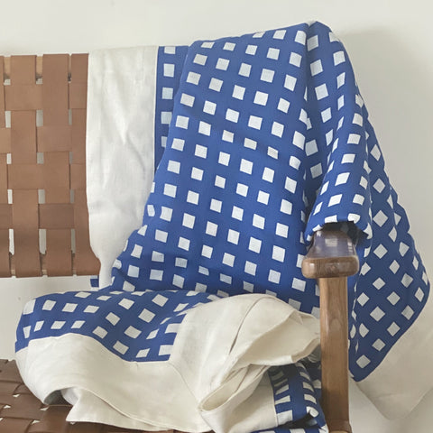 gingham tablecloth by bright threads at Unearthed Homewares