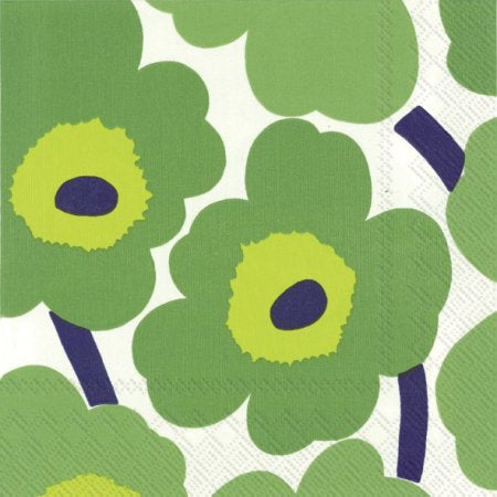 Napkins | Marrimekko Unikko || Green