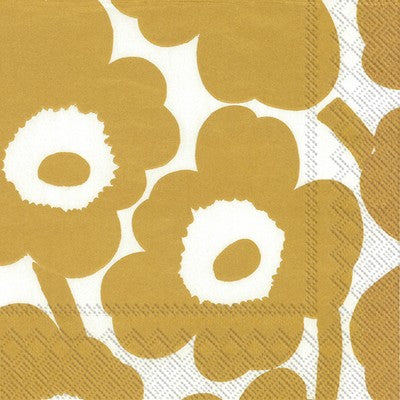 Napkins | Marrimekko Unikko || Gold