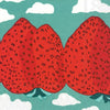 Napkins | Marrimekko Strawberry Mountains