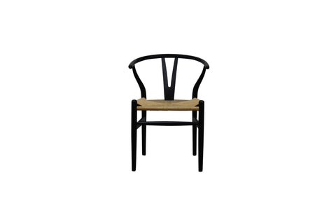 Wishbone Chair in Black