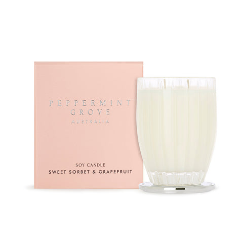 Peppermint Grove - Candle |Sweet Sorbet & Grapefruit