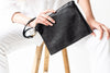 JuJu + Co - Flat Pouch Black | Large