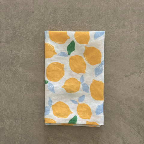 Napkins - Orchard Series | Lemon -  Set 4
