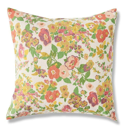 Mariannes Floral Cushion Society of Wanderers