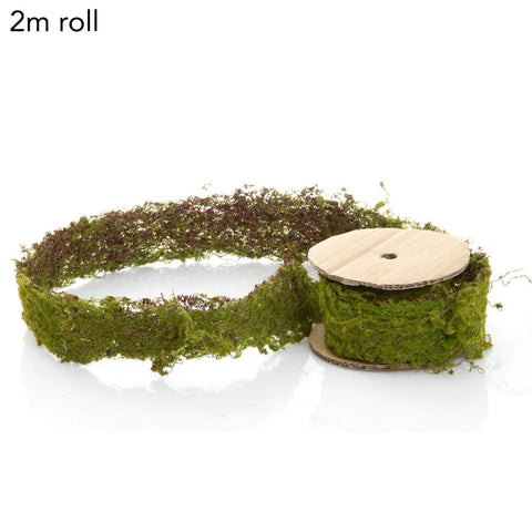 moss ribbon roll at Unearthed Homewares